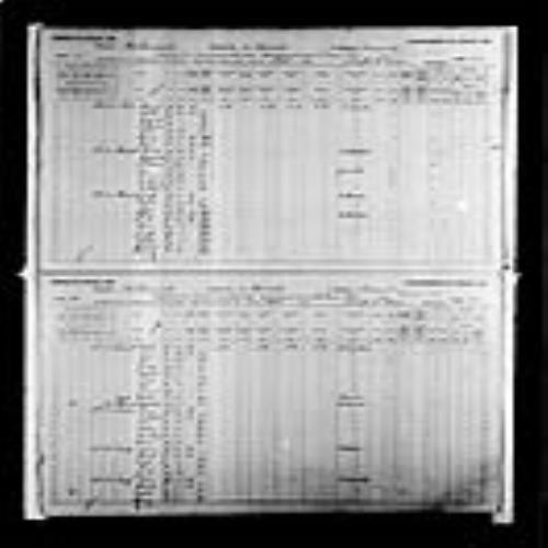 Page numérisée du Recensement du Canada (1891), Page numéro 47-52, pour Eugene Landry