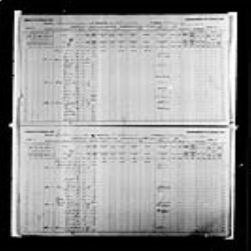 Digitized page of Census of Canada, 1891, Page number 4-5, for Augustin Cormier