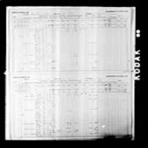 Digitized page of Census of Canada, 1891, Page number 10-11, for Ludgere Leger