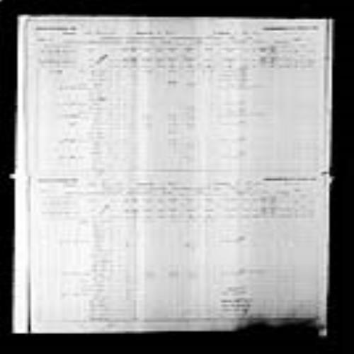 Digitized page of Census of Canada, 1891, Page number 38-39, for Auguste Leger