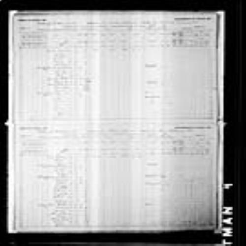 Digitized page of Census of Canada, 1891, Page number 26-27, for Richard Goodin