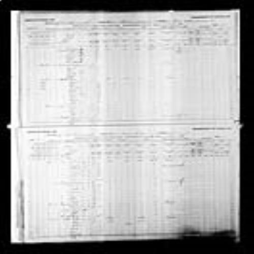 Page numérisée du Recensement du Canada (1891), Page numéro 10-11, pour Osem Maillet