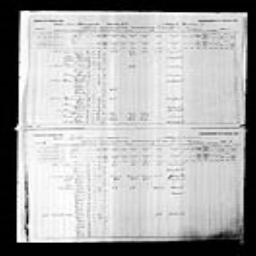 Digitized page of Census of Canada, 1891, Page number 2-3, for Theophilus Cormea