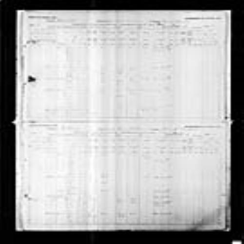 Digitized page of Census of Canada, 1891, Page number 59-64, for John Allen