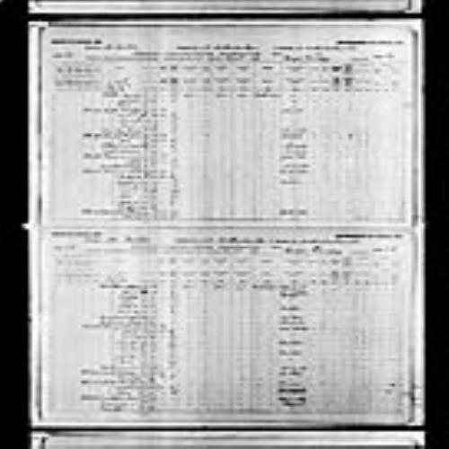 Digitized page of Census of Canada, 1891, Page number 36-37, for Wilfrid Laurier