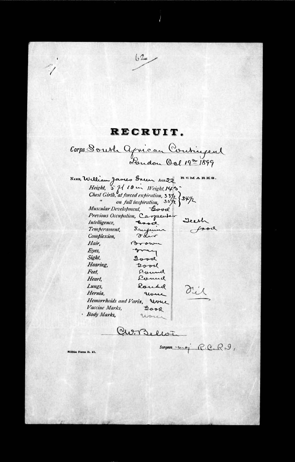 Digitized page of Boer War for Image No.: e002174095