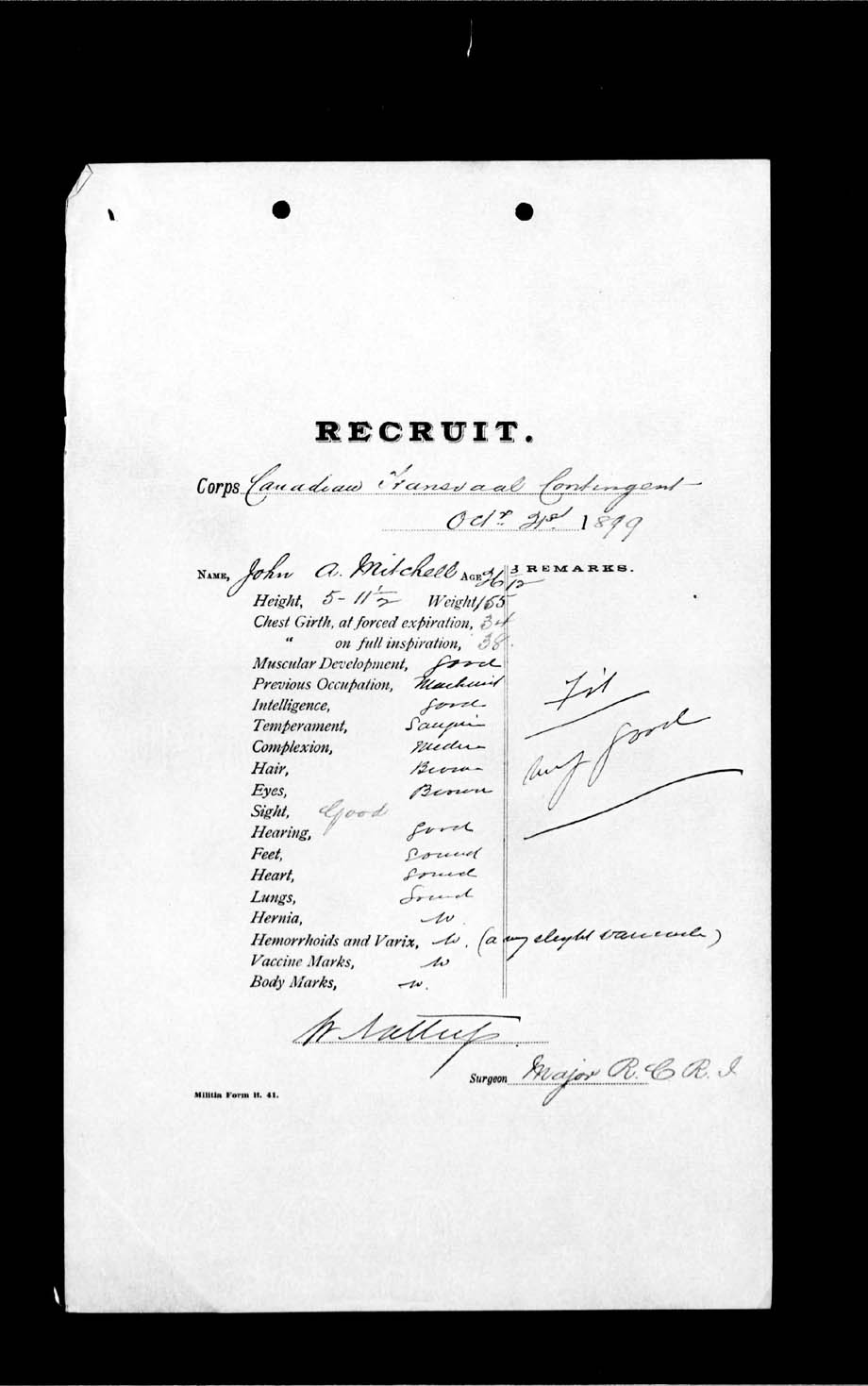Digitized page of Boer War for Image No.: e002186627