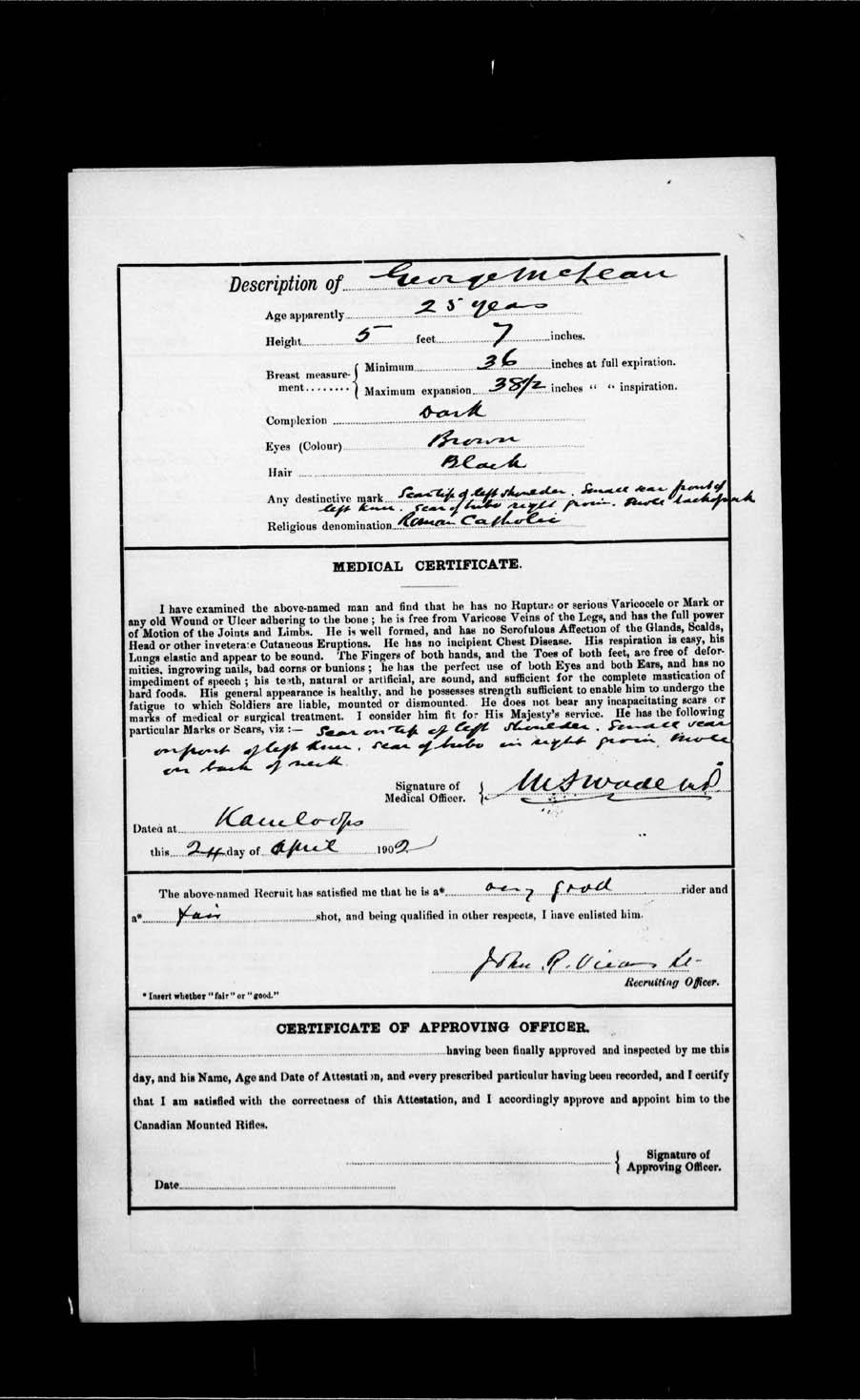 Page numérisé de Boer War pour l'image numéro: e002191149
