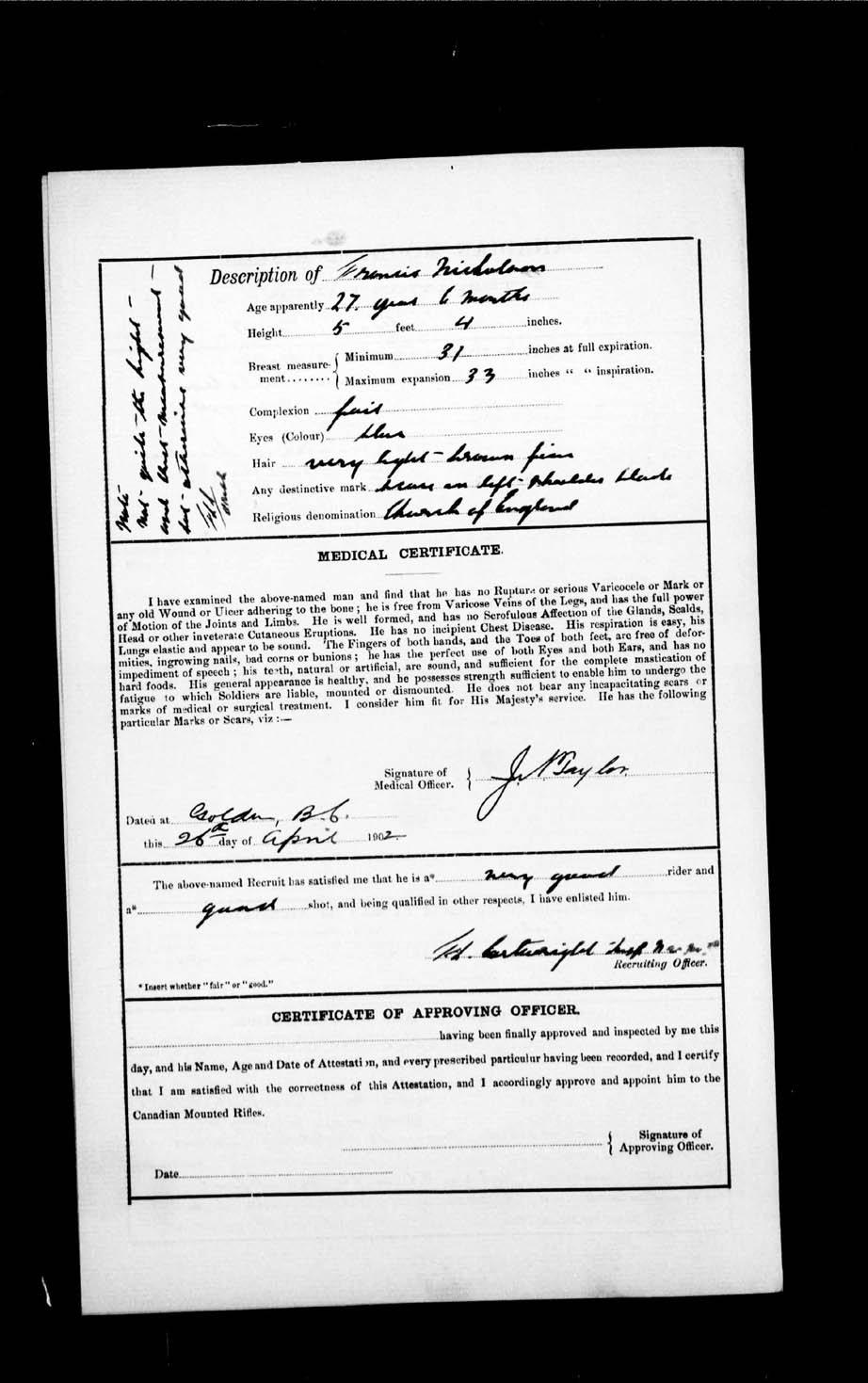 Digitized page of Boer War for Image No.: e002192895
