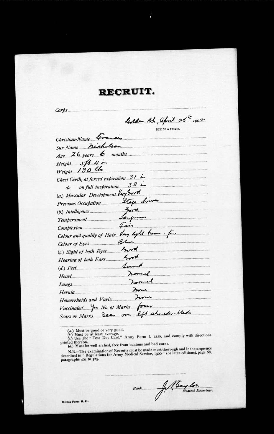 Page numérisé de Boer War pour l'image numéro: e002192902