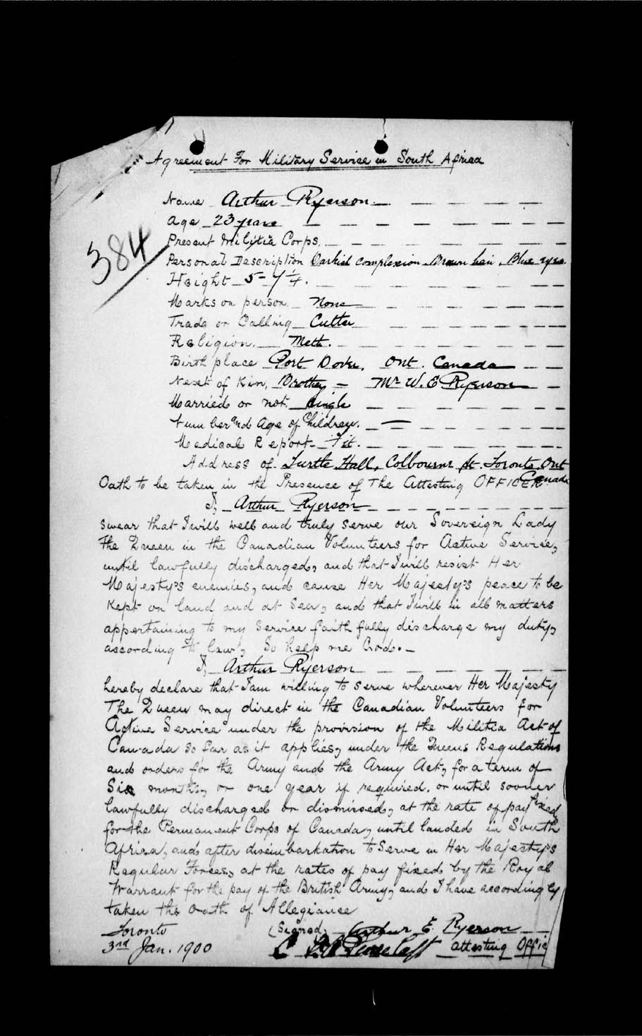 Digitized page of Boer War for Image No.: e002199331