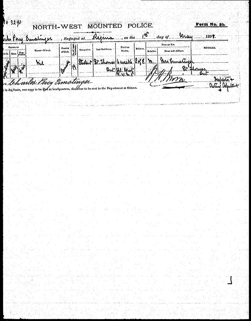 Digitized page of NWMP for Image No.: sf-03290.0013-v7