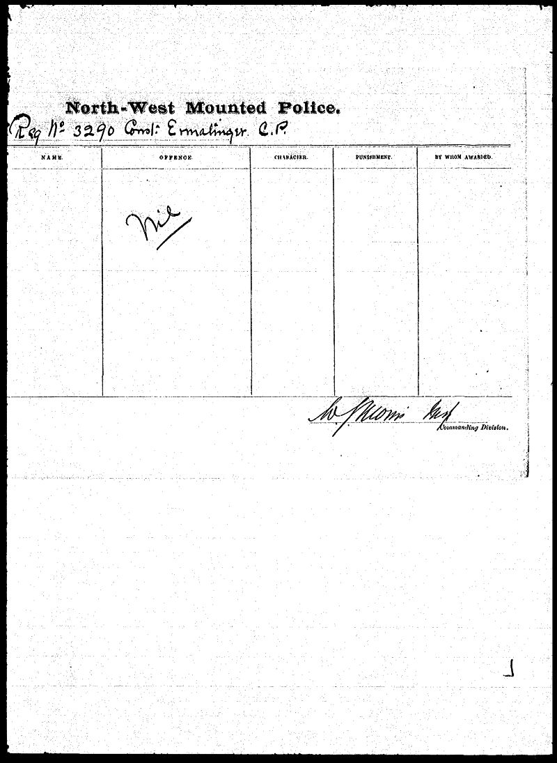 Digitized page of NWMP for Image No.: sf-03290.0041-v7
