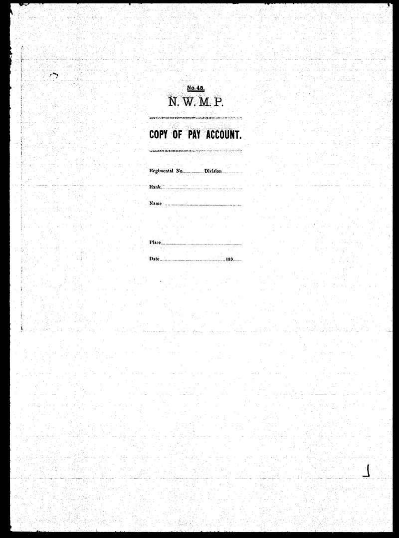 Digitized page of NWMP for Image No.: sf-03290.0046-v7