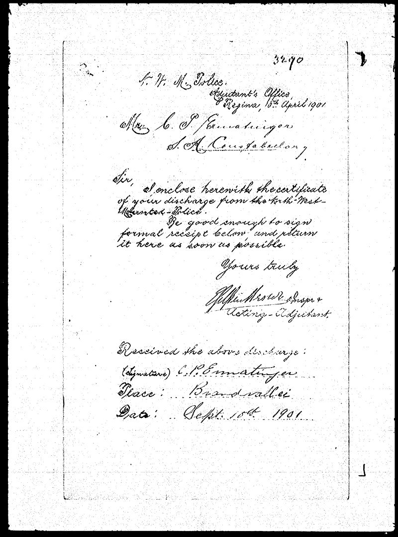 Digitized page of NWMP for Image No.: sf-03290.0051-v7