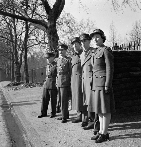 Graduation of the first course of Canadian Women's Army Corps (C.W.A.C.), London, England, 19 February 1943.