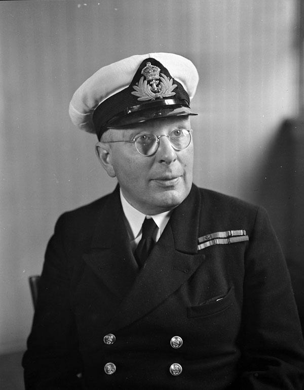 Lieutenant-Commander Roland Bourke, V.C., Esquimalt, British Columbia, Canada, 20 May 1941.