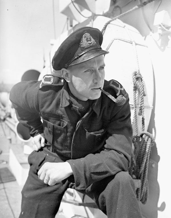 Sub-Lieutenant R.A.F. Raney, Royal Canadian Naval Volunteer Reserve (R.C.N.V.R.), 10 May 1943.
