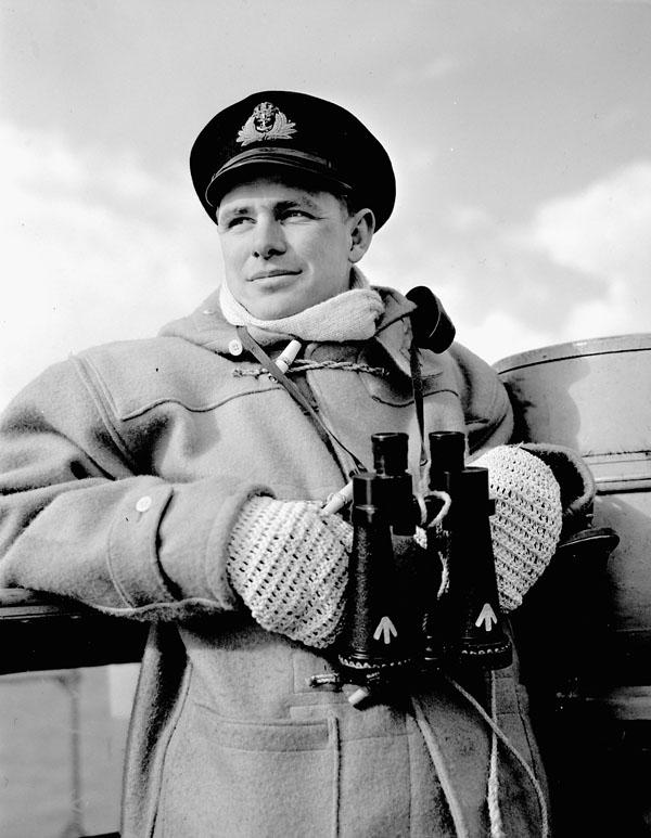 Lieutenant Harold Lawrence, H.M.C.S. SIOUX, 5 April 1944.