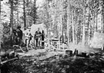 MIKAN 3244815 Camp on Trout Lake. 1878 - 1883. [166 KB, 760 X 535]
