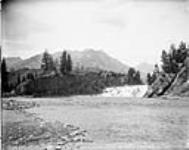 MIKAN 3302572 The Falls, Bow River, Banff, Alta. [between October 4-5, 1901]. [The Falls, Bow River, Banff, Alta., [between October 4-5, 1901].]