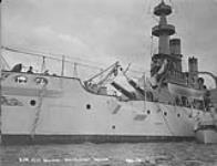 """MIKAN 3300120 Halifax, [U.S.] Battleship """"Indiana"""". Aug. 1902 [Halifax, [U.S.] Battleship 'Indiana'., Aug. 1902]"""