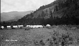 (Relief Projects - No. 60). Temporary camp. June 1933 [62 KB, 600 X 352]