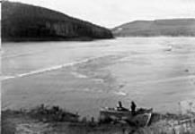 MIKAN 3302434 Cascade Rapids, Athabasca River, Alta. 1890. [56 KB, 600 X 414]