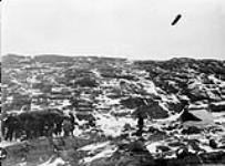 MIKAN 3406571 Wreck camp, Chesterfield Inlet, [N.W.T.], [September 28-30, 1903]. September 28-30, 1903. [Wreck camp, Chesterfield Inlet, [N.W.T.], [September 28-30, 1903]., September 28-30, 1903.]