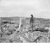 MIKAN 3327781 Ruins of Inuit dwellings at mouth of Chesterfield Inlet, (N.W.T.) 1893. [Ruins of Inuit dwellings at mouth of Chesterfield Inlet, (N.W.T.), 1893.]