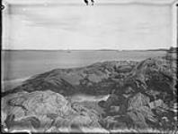 MIKAN 3305538 False Harbour Cape looking towards Yarmouth town, Yarmouth County, N.S. 1879 [False Harbour Cape looking towards Yarmouth town, Yarmouth County, N.S., 1879]
