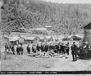 MIKAN 3377009 Silver Mountain Mine, Miners Houses. June 19, 1899 [Silver Mountain Mine, Miners Houses., June 19, 1899]
