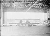 MIKAN 3580219 Interior of new hangar. 27 June 1929 [Interior of new hangar., 27 June 1929]
