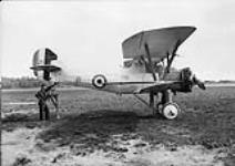"MIKAN 3574039 Armstrong Whitworth ""Siskin"" IIIA aircraft 21 of the Royal Canadian Air Force. 22 May 1931 [Armstrong Whitworth 'Siskin' IIIA aircraft 21 of the Royal Canadian Air Force., 22 May 1931]"