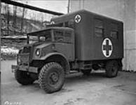 MIKAN 3583633 Exterior of photographic lorry. 1 Dec. 1944 [Exterior of photographic lorry., 1 Dec. 1944]