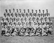 MIKAN 3237925 Group photo of the Motor Transport Section, R.C.A.F. Station. 27 June 1944 [Group photo of the Motor Transport Section, R.C.A.F. Station., 27 June 1944]
