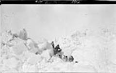 MIKAN 3407928 B.M. McConnell sledge party, [Alaska] 1914. 1913 - 1914 [103 KB, 1000 X 627]