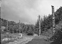 MIKAN 3307989 Totem poles, Prince Rupert, B.C. [Totem poles, Prince Rupert, B.C.]