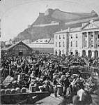 MIKAN 3330220 Lower Town Market. c. 1867 [Lower Town Market., c. 1867]