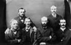 MIKAN 3406975 The jury of six at Louis Riel's trial. August, 1885. [41 KB, 640 X 410]