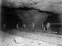 MIKAN 3226096 Fourth level, Crean Hill Mine, Canadian Copper Company. ca. 1910 [Fourth level, Crean Hill Mine, Canadian Copper Company., ca. 1910]