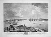 MIKAN 2935758 Town and Harbour of Halifax in Nova Scotia.. 1764 [Town and Harbour of Halifax in Nova Scotia.., 1764]
