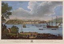 MIKAN 2894955 Vue de Québec, prise de la Pointe de Lévy. 1 septembre 1761. [Vue de Québec, prise de la Pointe de Lévy., 1 septembre 1761.]