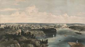 MIKAN 2837422 Ottawa City, Canada West (Upper Town) 1855 [Ottawa City, Canada West (Upper Town), 1855]