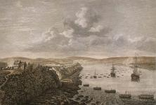 MIKAN 2837444 A View of the Landing Place above the Town of Quebec. ca. 1761 [A View of the Landing Place above the Town of Quebec., ca. 1761]