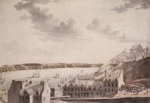MIKAN 2833934 Lower Town, Quebec. 1778 [Lower Town, Quebec., 1778]