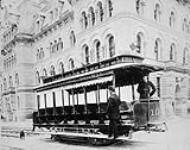 MIKAN 3401682 Electric street car. ca. 1900. [Electric street car., ca. 1900.]
