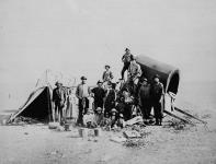 MIKAN 3194973 Métis traders. ca. 1872 - 1875 [Métis traders., ca. 1872 - 1875]