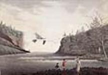 MIKAN 2895701 Les chutes de la Chaudière, près de Québec. 1792 [Les chutes de la Chaudière, près de Québec., 1792]