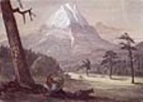 MIKAN 2834207 Mount Rainier from 'La Grande Prairie', Nisqually, Puget Sound, (Wash) 21 September 1845 [Mount Rainier from 'La Grande Prairie', Nisqually, Puget Sound, (Wash), 21 September 1845]